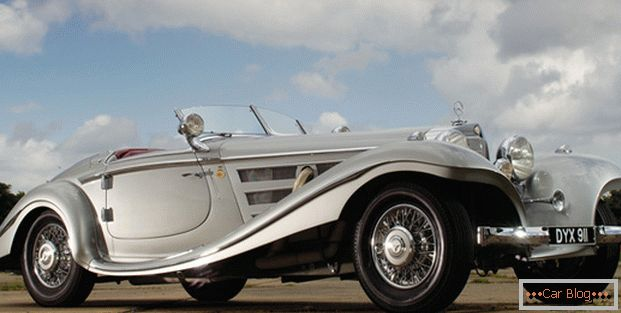 Автомобиль Mercedes-Benz 540 K Special Roadster