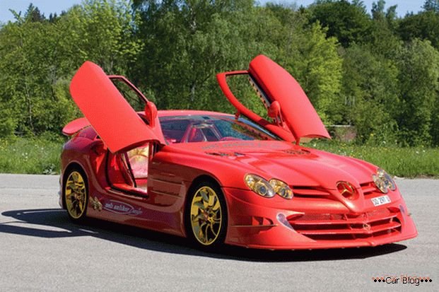 Voiture 999 Red Gold Dream