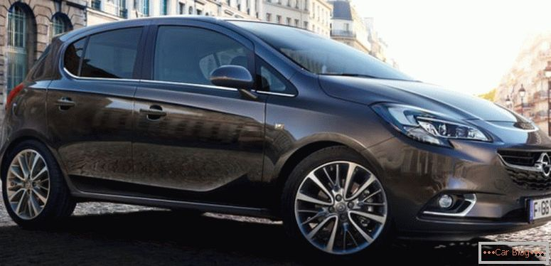 Opel Corsa Apparence