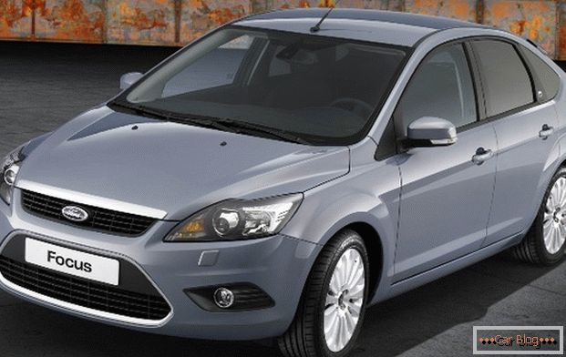 Ford Focus - une voiture populaire
