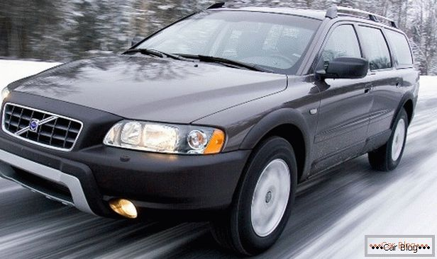 Volvo XC70 - voiture solide et fiable